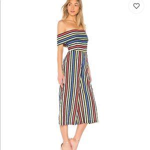 🌈 House of Harlow Rainbow Stripe Jumpsuit